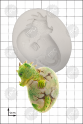 'Hatching Dragon' Silicone Mould